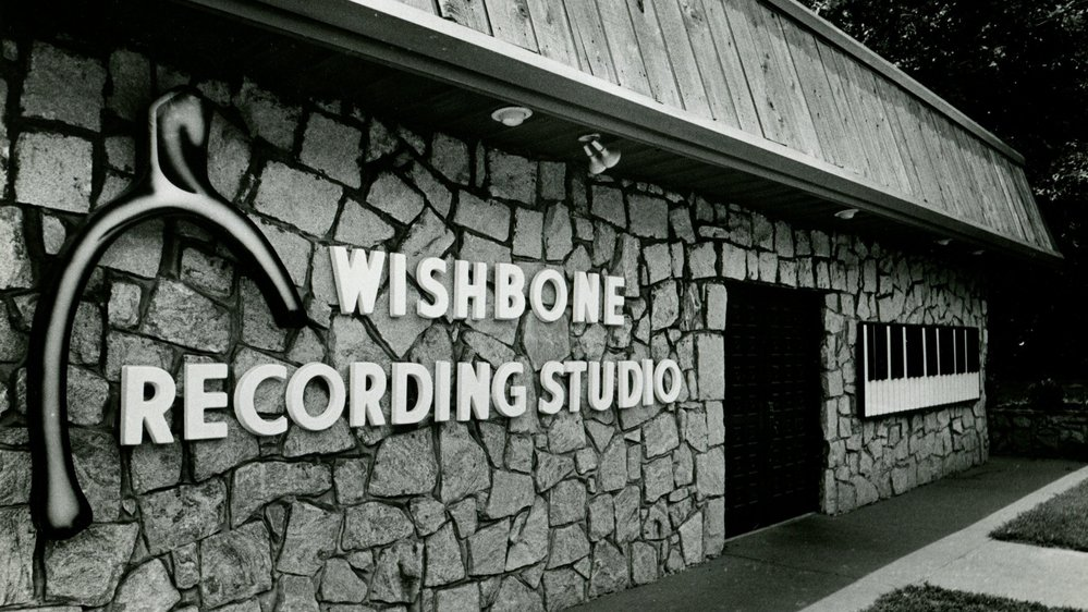 Wishbone Recording Studio. (Photo courtesy of Terry Woodford.)
